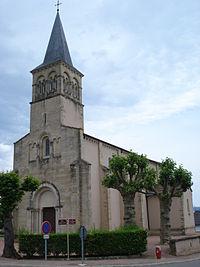 Baudemont (Saône-et-Loire, Fr), l'église.JPG