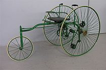Bayliss Thomas tricycle (ca. 1885)