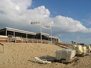 Bloemendaal aan Zee - A beach pavilion at Bloemendaal aan Zee