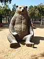 Bear sculpture, Bavli.jpg