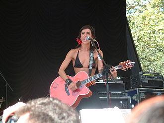 Latin Grammy Award for Best New Artist - 2005 award winner Bebe, performing in 2005