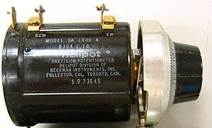 Arnold Orville Beckman - Beckman Helipot potentiometer SA1400A