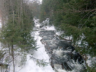 Beebe River - The Beebe River in Campton, New Hampshire at Route 175