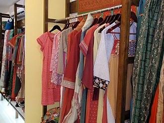 Self Employed Women's Association - Products at the SEWA Hansiba Store in Mumbai.