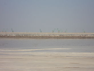 Salt in Chinese history - Present Day Salt Flats at Tianjin