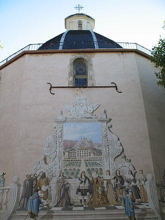 Belgentier - The church of Notre-Dame-de-l'Assomption, in Belgentier