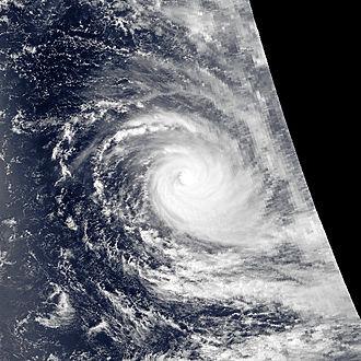 1990–91 South-West Indian Ocean cyclone season - Image: Bella jan 30 1991 1055Z