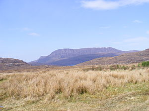 Ben Mor Coigach - Ben Mor Coigach from the south-east