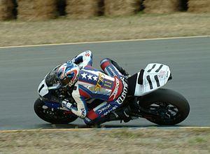 Ben Spies - Spies at Infineon Raceway in 2005 riding Suzuki.