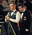 Ben Williams and Mark King at Snooker German Masters (Martin Rulsch) 2014-01-29 01.jpg