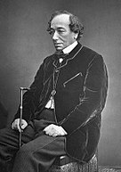 photograph of Benjamin Disraeli