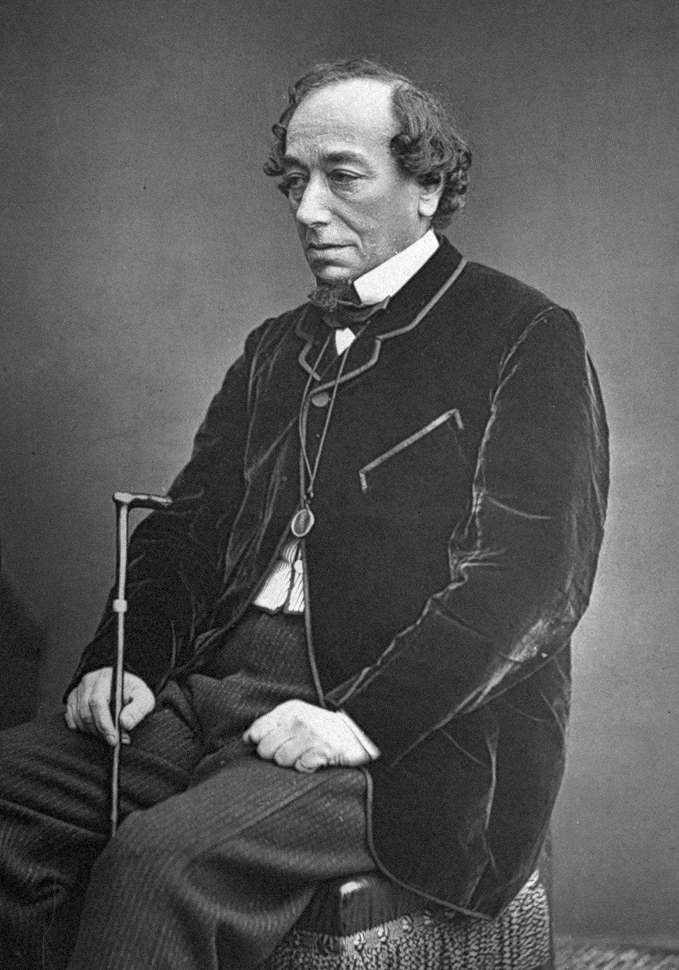 Benjamin Disraeli by W&D Downey, c1878
