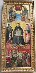 Benozzo Gozzoli: Triumph of St. Thomas Aquinas