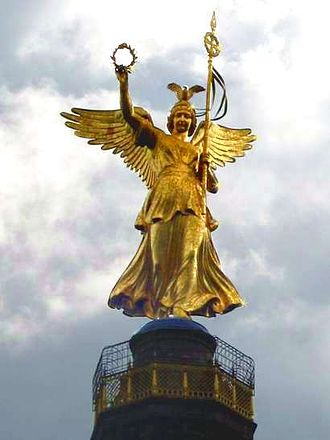 Friedrich Drake - Victory on top of the Berlin Victory Column