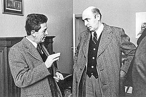 Giorgio Napolitano - Napolitano with Enrico Berlinguer.