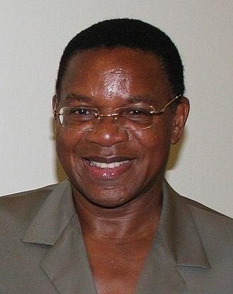 Minister of Foreign Affairs (Tanzania) - Image: Bernard Membe UNDP Tanzania 2010
