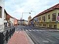 Beroun, Plzeňská, pohled k Plzeňské bráně.jpg