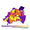 Bevölkerungsdichte in Timisoara 2009.jpg