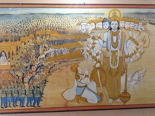 Bhaarata yuddhamlo visvarupam