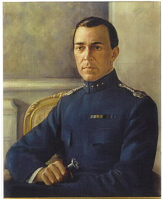 Prince Gustaf Adolf, Duke of Västerbotten - Gustaf Adolf as painted by Bianca Wallin in 1939