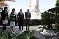 Biden's and Caroline Kennedy at Daniel Inouye Memorial at Ambassadors residence in Toyko - 2013.jpg