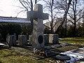 Bielsko-Biała, cmentarz wojskowy - pomnik ofiar Katynia.jpg