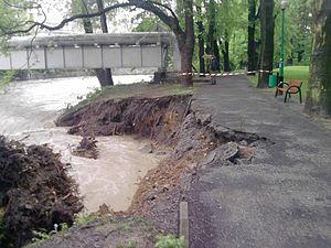 2010 in Europe - Flooding in Bielsko-Biała