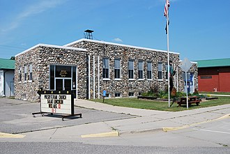 National Register of Historic Places listings in Itasca County, Minnesota - Image: Bigfork City Hall