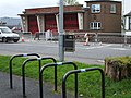 Bike stand, Mountjoy Road, Omagh - geograph.org.uk - 597819.jpg