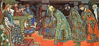 The Tale of Tsar Saltan - Image: Bilibin 3 saltan