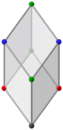 Bilinski dodecahedron, ortho acute.png