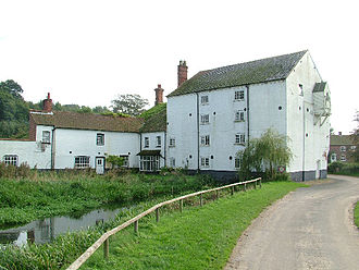 River Wensum - Bintree Mill, 2005 (photo by Mark Boyer)