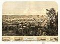 Bird's eye view of Michigan City, LaPorte County, Ind. 1869. LOC 73693384.jpg