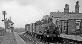 Leeds, Bradford and Halifax Junction Railway - Image: Birkenshaw & Tong Station 1802134 b 030f 5f 1