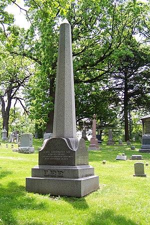 Henry W. Lee (bishop) - Grave at Oakdale Cemetery