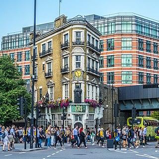 The Black Friar (pub) pub in London, UK