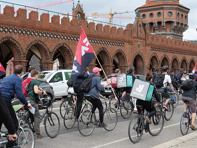 File:Black Friday Demonstration against Deliveroo in Berlin 04.jpg