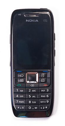 image illustrative de l'article Nokia E51