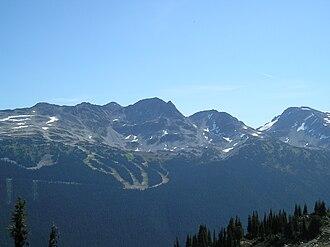 Blackcomb Peak - Image: Blackcomb 1