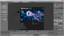 Screenshot di Blender (programma)