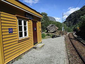 Blomheller Station - Image: Blomheller station