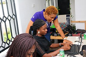 Blossom Teaching at - IgboWomenWiki.jpg