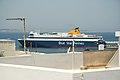 Blue Star Paros in port of Naxos town, 080528.jpg