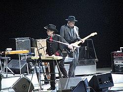 Bob Dylan en un concierto en Toronto (2008)