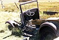 Bodie Ghost Town, CA 1999, Model A Ford (6354555829).jpg
