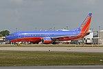 Boeing 737-8H4(w) 'N8622A' Southwest (39633558084).jpg