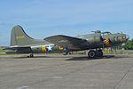 Boeing B-17G Flying Fortress '124485 - DF-A' 'Memphis Belle - Sally B' (G-BEDF) (24976007516).jpg