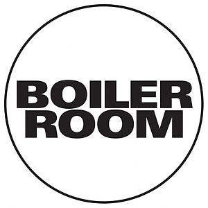Boiler Room (music project) - Image: Boiler Room Music Project Logo