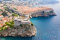 Bokar Fortress and the Old Town of Dubrovnik, Croatia (48613181692).jpg
