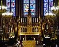 Bonsecours Basilique Notre-Dame de Bonsecours Innen Chor Hochaltar 1.jpg